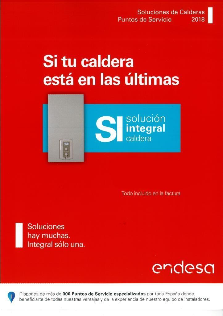 Servicio Tecnico ENDESA. ALECO Empresa Multimarca en instalación y Mantenimiento de Calderas.