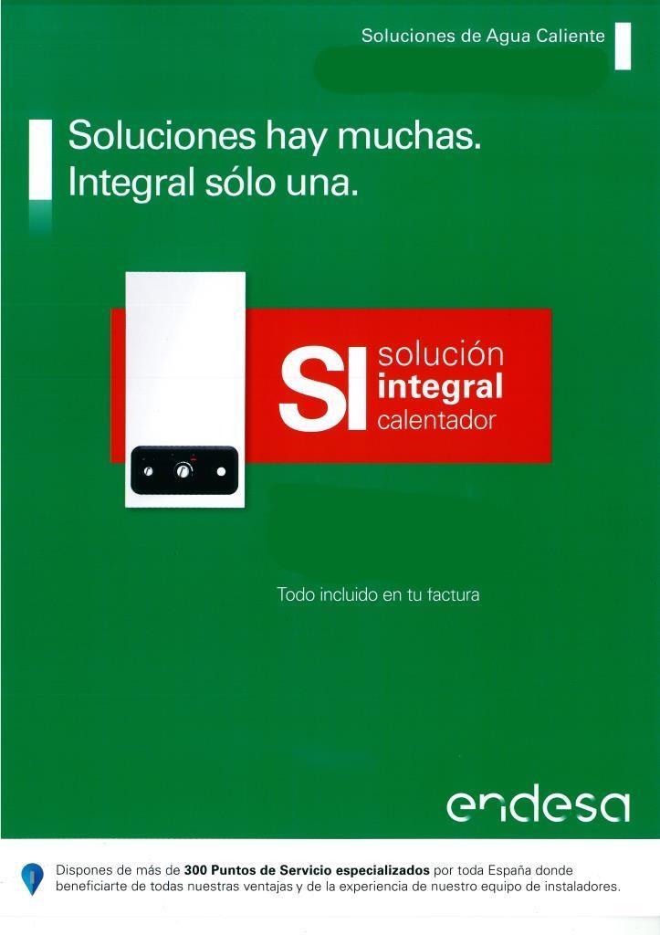 Servicio Tecnico ENDESA. ALECO Empresa Multimarca en instalación y Mantenimiento de Calentadores.